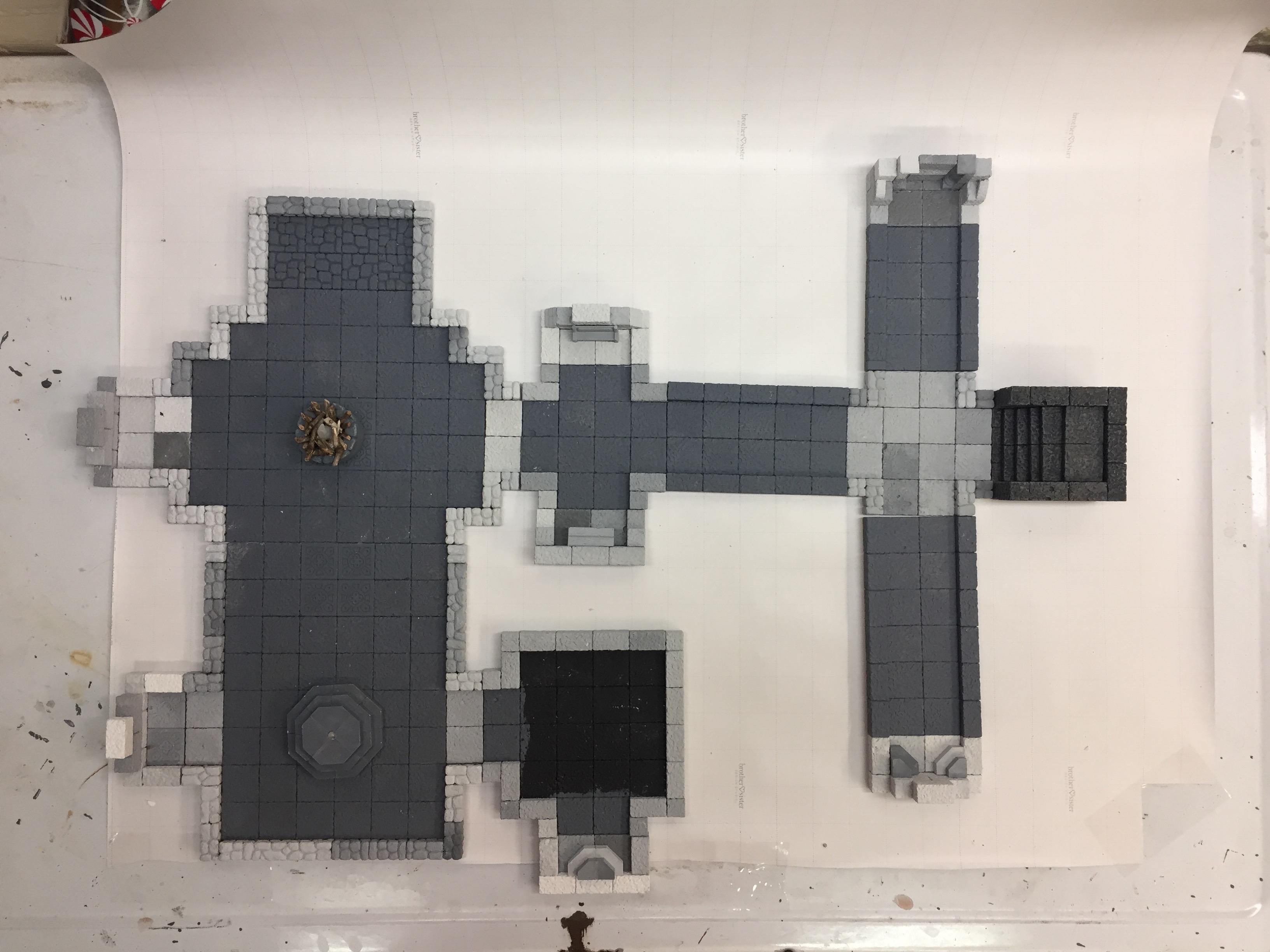 2 5d Dungeon Tiles